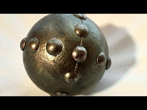 DIY Metallic Spheres!!