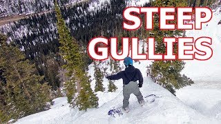 STEEPEST SNOWBOARDING IN COLORADO?
