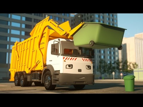 Thumbnail: George the Garbage Truck - Real City Heroes (RCH) - Videos For Children
