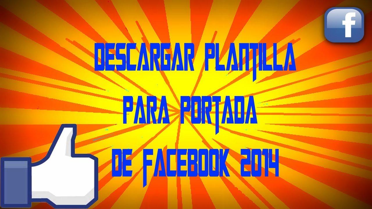 Plantilla para portada de facebook (se actualiza siempre) - YouTube