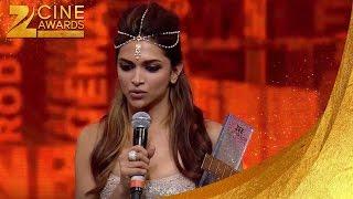 Zee Cine Awards 2014 Best Performance Deepika Padukone