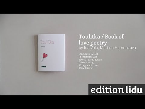 Edition Lidu's Best Books / Toulitka Book Of Love Poetry