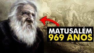 Por que os personagens da Bíblia viviam tantos anos?