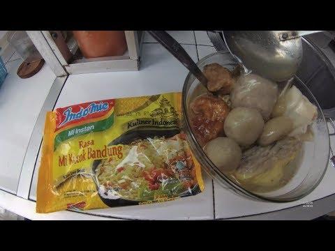 Indonesia Garut Street Food 4646 Part.1 Bandung Noodles Mie Kocok Bandung Enak Murah YDXJ0299