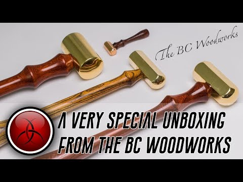 Precision Heirloom Hammers - The BC Woodworks Special Unboxing