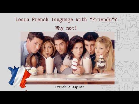 """Apprendre le français avec la série """"Friends""""? Pourquoi pas! Learn French with """"Friends""""? Why not?"""