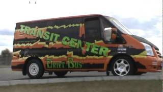 DRIFT BUS & SUPER VAN in one Ford Transit V8 parts 2
