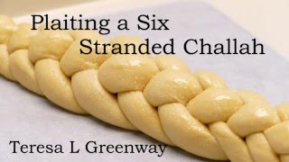 Learn How to Plait or Braid a Six Stranded Challah Bread