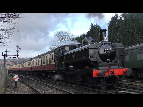 Severn Valley Railway - February 18th - 2017 - 4K