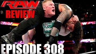 WWE RAW Review 1-11-16 / Brock Lesnar Returns / Kalisto New US Champ / Sting to WWE HOF