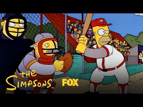 Baseball Hall Of Fame: Homer Wins The Game! | Season 3 Ep. 17 | THE SIMPSONS