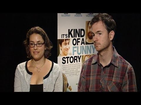 with 'It's Kind of a Funny Story' Directors Fleck and Boden