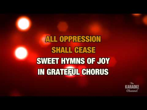 "O Holy Night in the Style of ""Celine Dion"" karaoke video with lyrics (no lead vocal)"