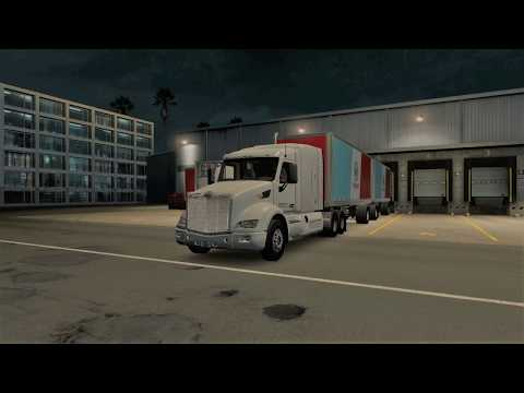 American Truck Simulator  - Quick Delivery to Tampa, Florida
