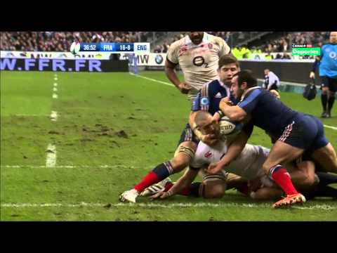 6 Nations Rugby 2014 France - England 1 Feb Full Match