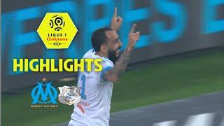 Olympique de marseille - amiens sc ( 2-1 ) - highlights - (om - asc) / 2017-18