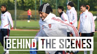 Behind the scenes | Arsenal get set to face West Ham United!