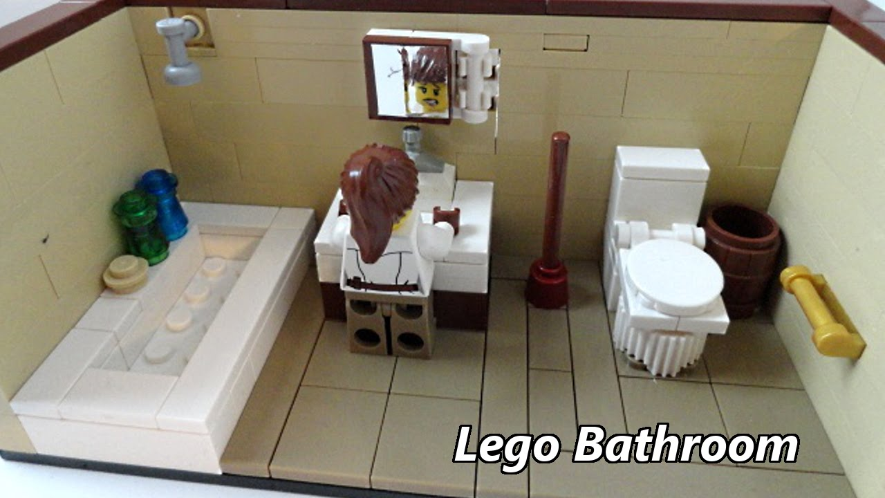 Lego Bathroom Youtube