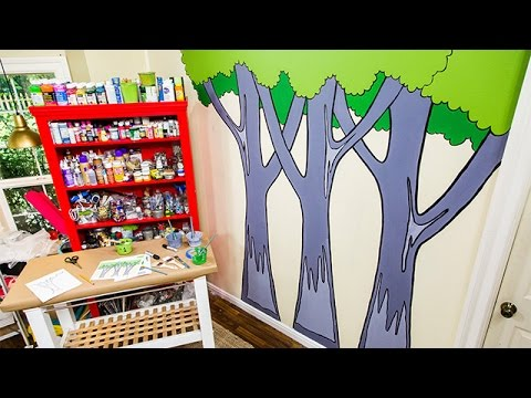 How To – Paige Hemmis' DIY Paint by Number Mural – Hallmark Channel