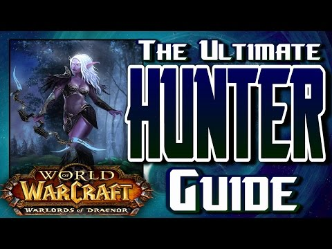 Warlords Of Draenor - MM Hunter How to PvP Guide, Including: Talents, Glyphs, Rotation and More