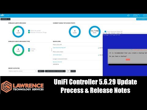 UniFI Controller 5 6 29 Release Notes & How we update our self hosted  controller Virtual Machine