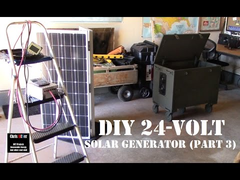Diy Portable Transportable Quot Bug Out Quot Box Solar Generator