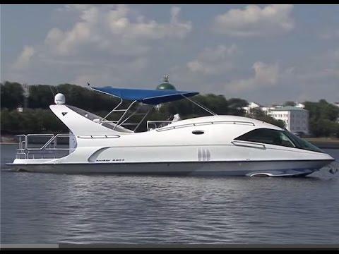 Катер на подводных крыльях российского производства  Looker 440s