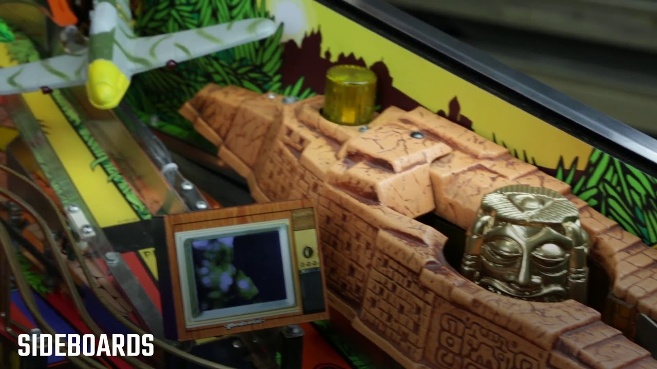 Indiana Jones Pinball Spare Parts and Mods by Pedretti Gaming