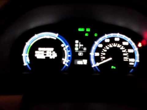 Lexus Hs 250h Going Crazy When You Pump Brake Pedal