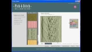 Pick-a-Stitch Knitting Software Review