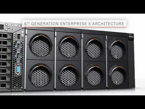 Lenovo System x3850 X6  Server - Product Demo