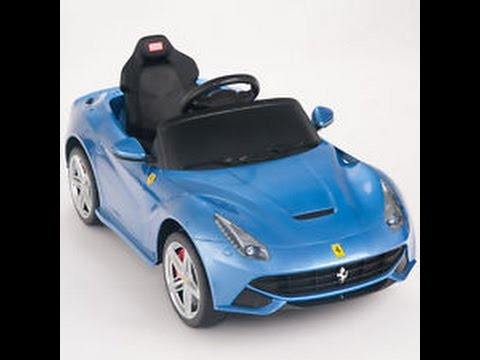 ferrari f12 voiture lectrique 6v jouet enfourcher youtube. Black Bedroom Furniture Sets. Home Design Ideas