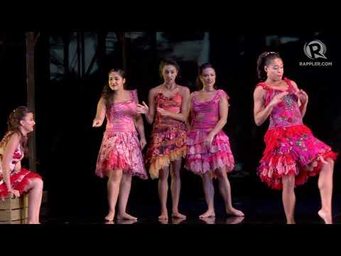 'West Side Story' American cast performs 'America' in Manila
