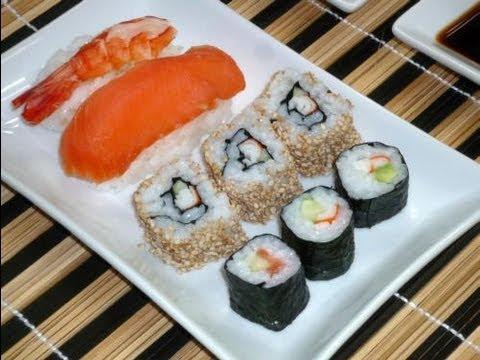 Sushi (Hoso Maki / Ura Maki / Nigiri Sushi)