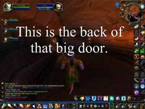 wow how to get into old ironforge youtube. Black Bedroom Furniture Sets. Home Design Ideas