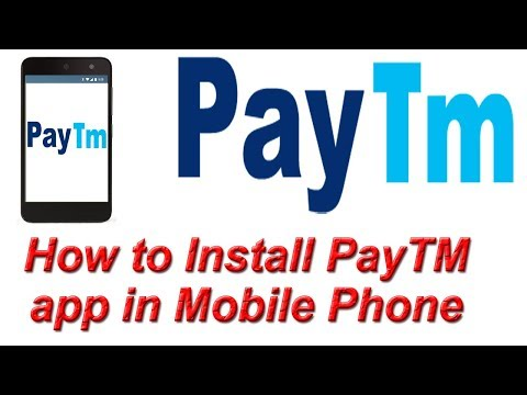 How To Install PayTM App In Mobile Phone | Create PayTM Account