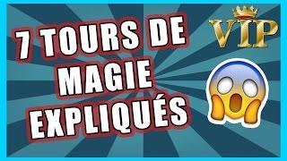 7 TOURS de MAGIE expliqué - Programme Mantor(Vous voulez apprendre 7 tours de magie ? c'est par ICI : http://magique-pourtous.wixsite.com/magiquepourtous/frmantor., 2016-09-11T14:14:57.000Z)