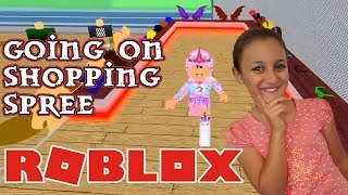 andare a fare shopping in vita in paradiso — Roblox