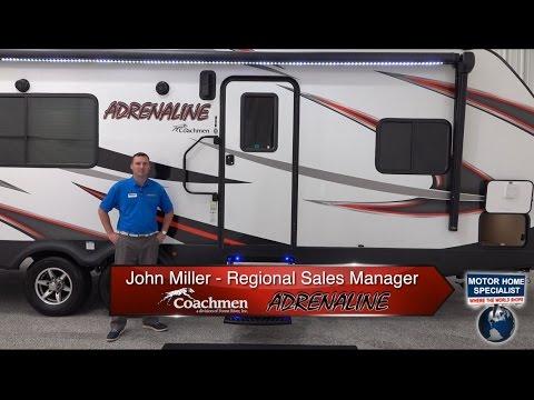 Coachmen Adrenaline 26CB Toy Hauler Travel Trailer RVs for Sale at MHSRV.com