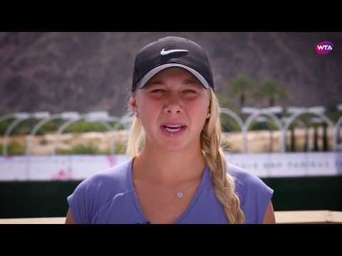 2018 Indian Wells My Performance: Amanda Anisimova on her stunning victory