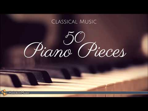 Radio Show ♫ NEW ♫ 50 Piano Pieces | Classical Music