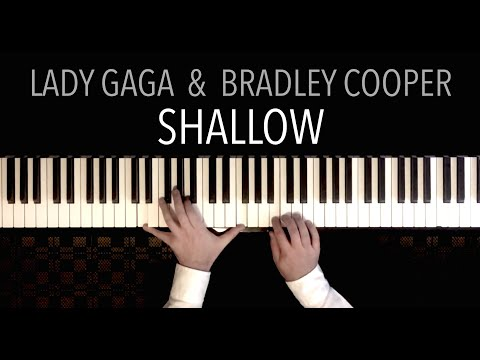 Lady Gaga & Bradley Cooper - Shallow | Paul Hankinson Piano Cover (gentle, moving)