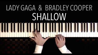 Lady Gaga & Bradley Cooper - Shallow (Gentle Piano Cover Version) | from the film 'A Star Is Born'