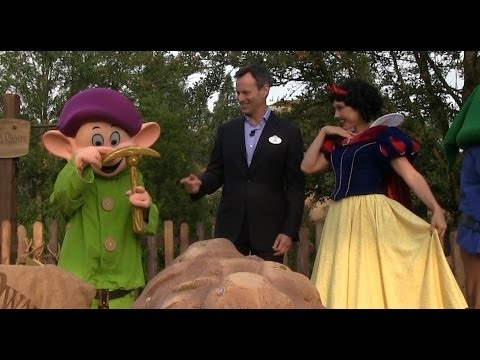 Seven Dwarfs Mine Train Dedication Ceremony At Walt Disney World's Magic Kingdom