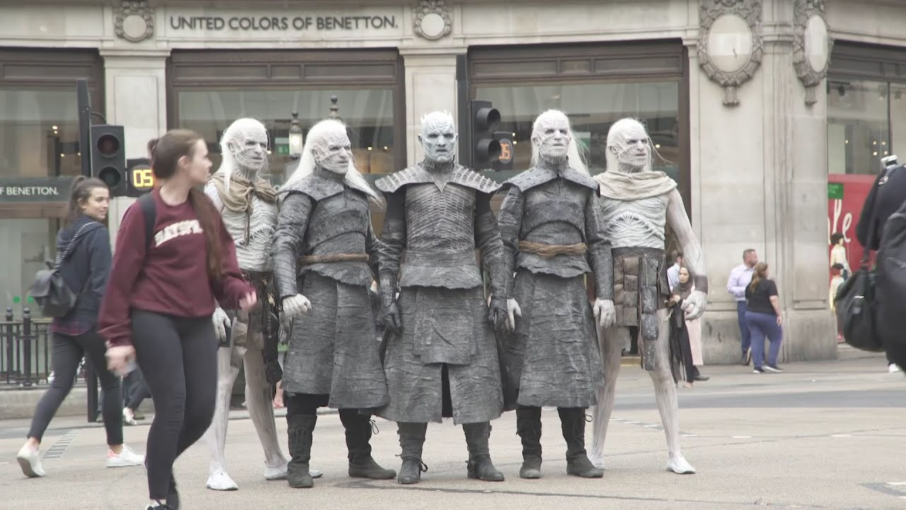 White Walkers hit London as Game of Thrones returns