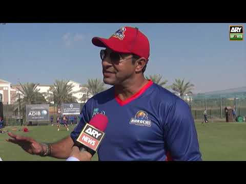 Our mantra is to fight till the last ball: Wasim Akram