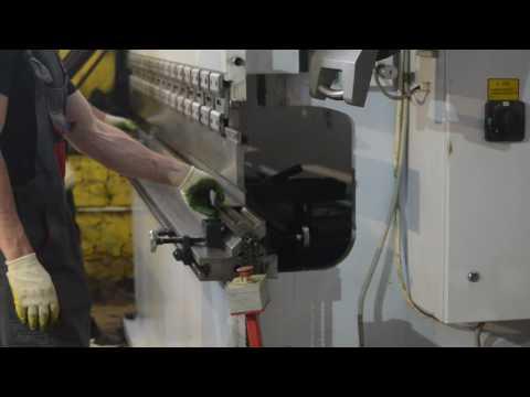 Изготовление швеллера: гибка швеллера