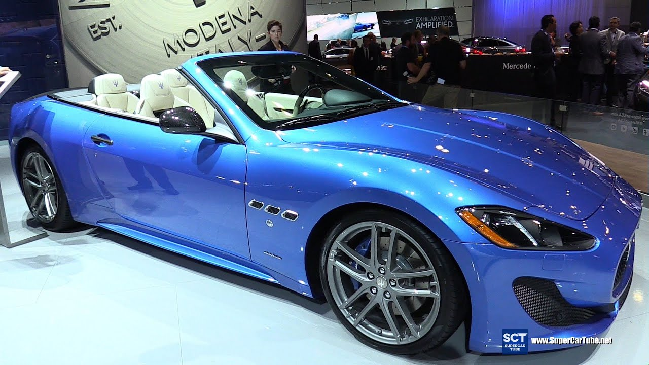 2016 maserati granturismo sport convertible exterior and. Black Bedroom Furniture Sets. Home Design Ideas