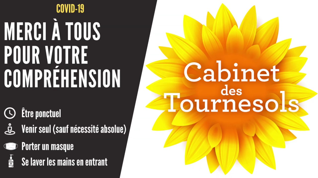 Recommandations patients cabinet des Tournesols   COVID 19