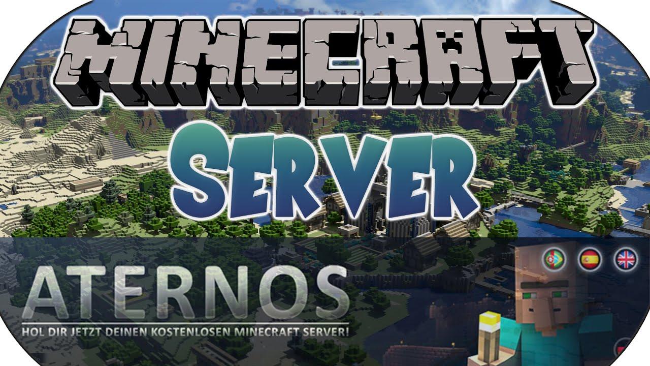 Kostenlosen Minecraft Server erstellen - Aternos [Reupload ...